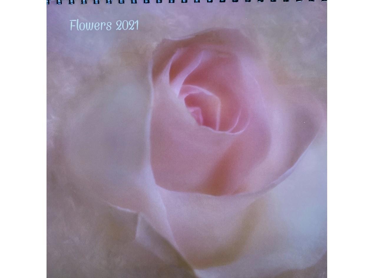 Calendar Flowers 2021
